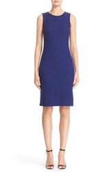 St. John Women's Collection Trellis Knit Sheath Dress