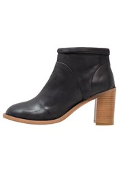 Sneaky Steve Crystal Ankle Boots Black