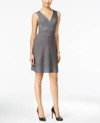 Inc International Concepts Petite A Line Dress Only At Macy's Medium Heather Grey