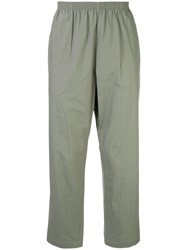 Tomorrowland Elasticated Trousers Green