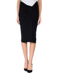 Hope Collection 3 4 Length Skirts Black