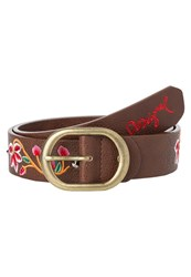 Desigual Happy Bazar Belt Choco Fresa Multicoloured