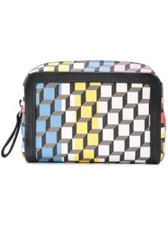 Pierre Hardy Maroquinerie Travel Pouch Black