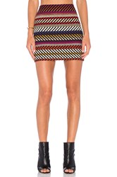 Trina Turk Rico Mini Skirt Purple