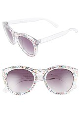 Sam Edelman Women's Circus By 52Mm Sparkle Cat Eye Sunglasses