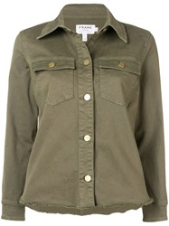 Frame Field Jacket Green