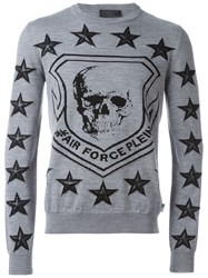 Philipp Plein 'Fremd' Jumper Grey
