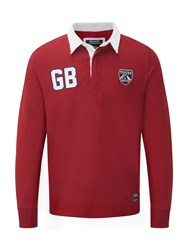 Tog 24 Thierry Mens Rugby Shirt Red