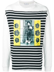J.W.Anderson Jw Anderson Long Sleeve Printed T Shirt Black