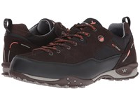 Allrounder By Mephisto Tacco Tex Black Rubber N Rovere Dark Brown Suede Shoes
