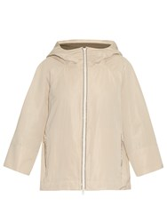 Brunello Cucinelli Double Hood Taffeta Nylon Jacket