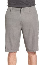 Men's O'neill 'Loaded' Hybrid Walking Shorts Grey