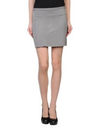 Hotel Particulier Mini Skirts Grey