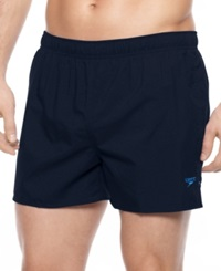 Speedo Swimwear Surf Runner Swim Trunks New Navy