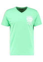 Petrol Industries Print Tshirt Mint Green