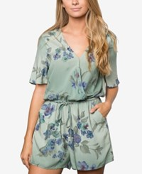 O'neill Juniors' Indio Floral Print Romper A Macy's Exclusive Olv