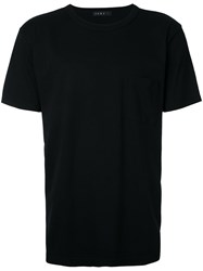 Roar Embellished Motif T Shirt Men Cotton Ii Black