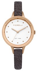 Fiorelli Ladies Pony Fur Leather Strap Khaki