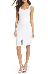 Ali And Jay Rose All Day Ponte Sheath Dress White