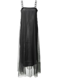 I'm Isola Marras Flared Maxi Dress Black