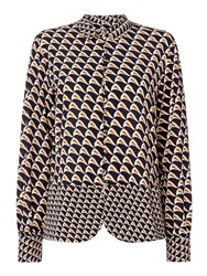 Second Female Stoclet Printed Long Sleeve Shirt Multi Coloured Multi Coloured