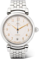 Iwc Schaffhausen Da Vinci Automatic 36 Stainless Steel Watch Silver