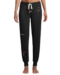 Pj Salvage True Love Jogger Pants Black