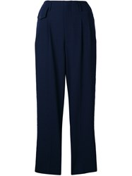 Golden Goose Deluxe Brand Loose Fit Trousers Blue