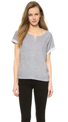 Stateside Cut Off Sweatshirt Heather Grey