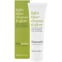 This Works Light Time Cleanse And Glow 75Ml