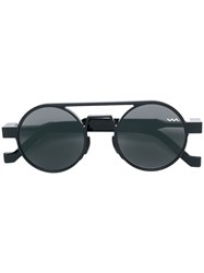 Vava Round Frame Sunglasses Black
