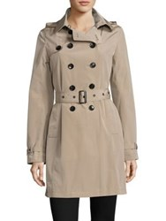 Jane Post Downtown Trench Coat Stone