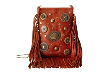 Leather Rock Ce23 Whiskey Handbags Brown