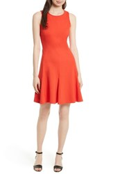 Kate Spade Women's New York Ponte Fit And Flare Dress