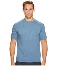 Tasc Performance Carrollton Top Indigo Heather Clothing Blue