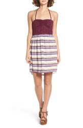 Roxy Women's Sleep To Dream Dress Sienna Stripe Pristine