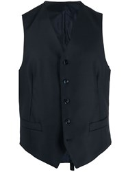 Dell'oglio Single Breasted Wool Waistcoat 60