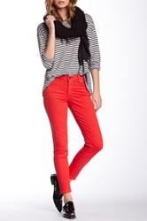 Cj By Cookie Johnson Wisdom Ankle Skinny Jean Red