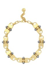 Women's Louise Et Cie 'Drama' Faux Pearl Link Necklace