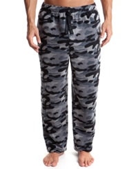 Perry Ellis Men's Camo Print Fleece Pajama Pants