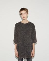R 13 Oversized Boyfriend Tee Super Faded Black