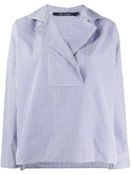 Sofie D'hoore Bailey Double Twisted Shirt Blue