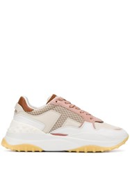 Tod's Panelled Low Top Sneakers 60