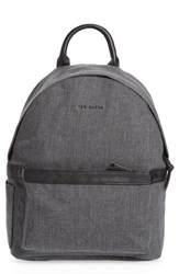 Ted Baker 'S London Lychee Backpack Black Charcoal