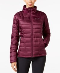Columbia Pacific Thermal Coil Puffer Jacket Purple Dahlia