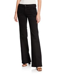 Notify Jeans Dahlia High Rise Flared Black