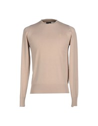 Raw Correct Line By G Star Knitwear Jumpers Men Beige