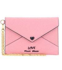 Miu Miu Leather Wallet Pink