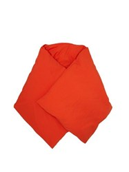 Jil Sander Down Filled Duvet Wrap Orange