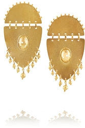 Paula Mendoza Jarama Gold Plated Earrings